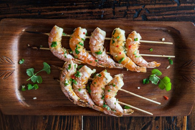 Grilled Chinese Shrimp